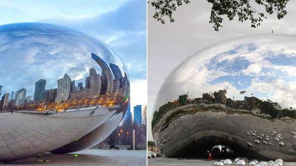 Chicago´s Bean and western China clon Anish Kapoor
