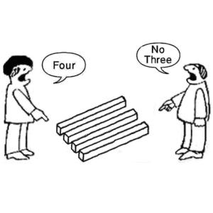 4 not 3