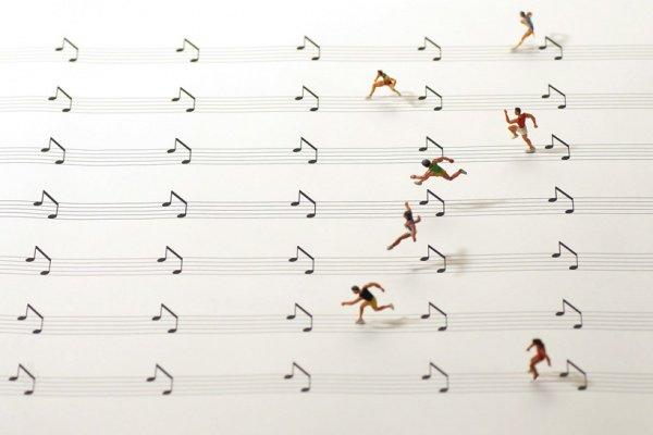 Tatsuya Tanaka Vida cotidiana en miniatura