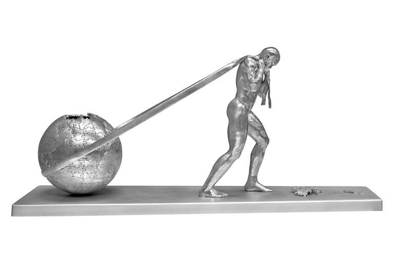 Will-Power-Alu-01-Sculptures-Lorenzo-Quinn
